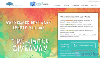 Watermark Software 8 gratuit !