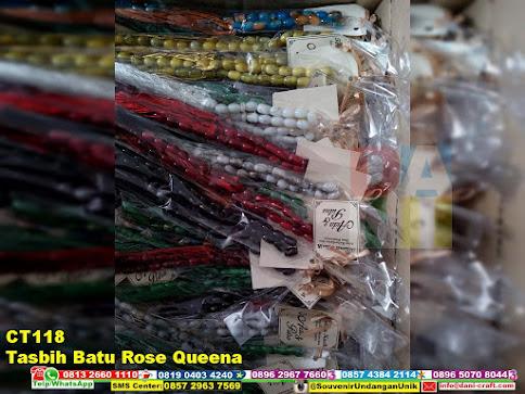 jual Tasbih Batu Rose Queena