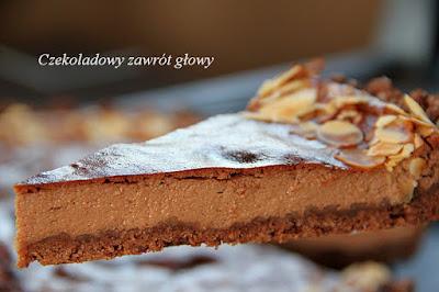 Tarta serowo-kakaowa