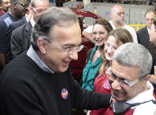 Marchionne and Worker