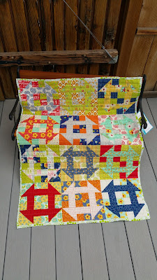 Kristy's churn baby churn test quilt