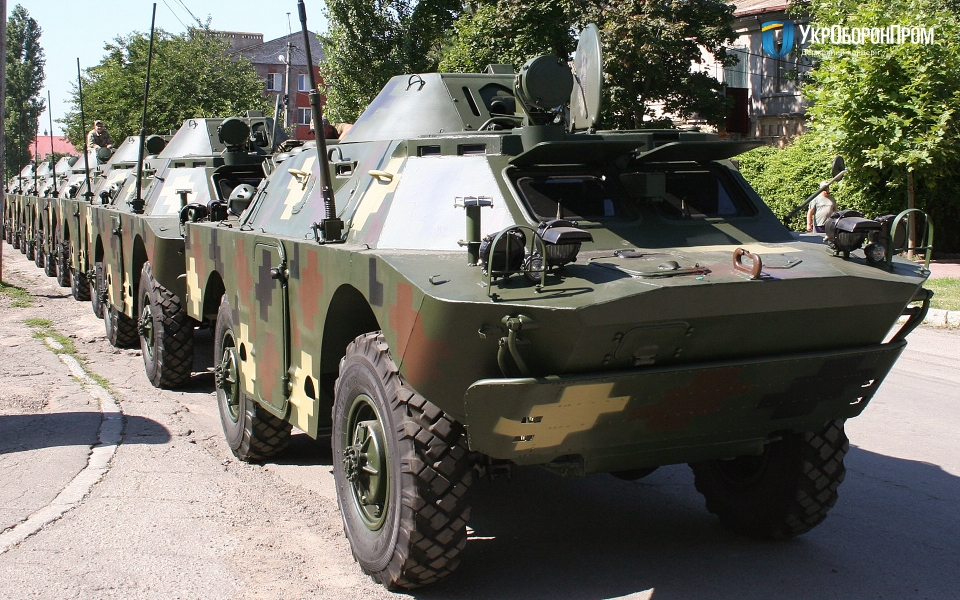 Миколаївський бронетанковий завод модернізував 50 БРДМ