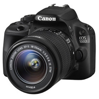 Kamera Canon EOS 100D Kit (EF S18-55 IS STM)