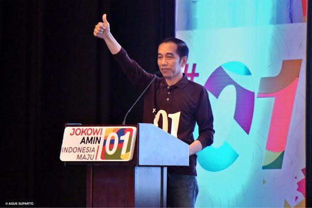 Jokowi: Saya Mengajak Kita Semua untuk Hijrah