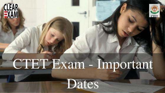 CTET Exam Dates