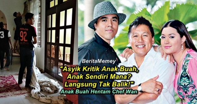 """""""Asyik Kritik Anak Buah, Anak Sendiri Mana? Langsung Tak Balik!"""" - Anak Buah Tampil Hentam Chef Wan"""