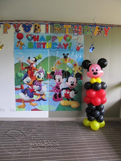 DECORACION MICKEY MOUSE Y RECREACIONISTAS MEDELLIN 6