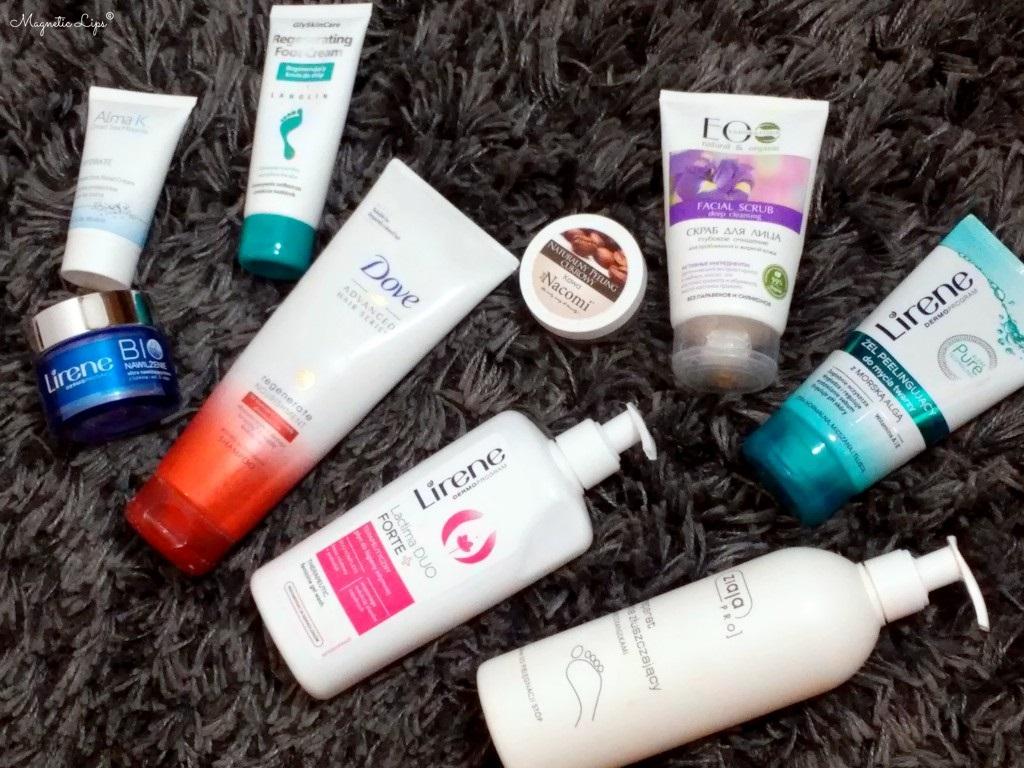 zużycia kosmetyczne 2017