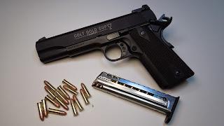 colt gold cup rail gun 22lr mag clip follower enhancement high cap shockbottle nictaylor00 Walther