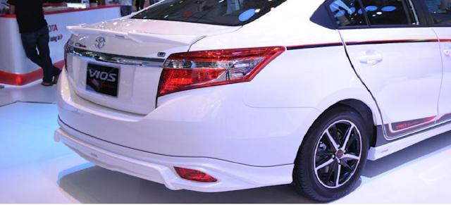 Lộ diện phiên bản Toyota Vios TRD cải tiến từ Vios G ảnh 5