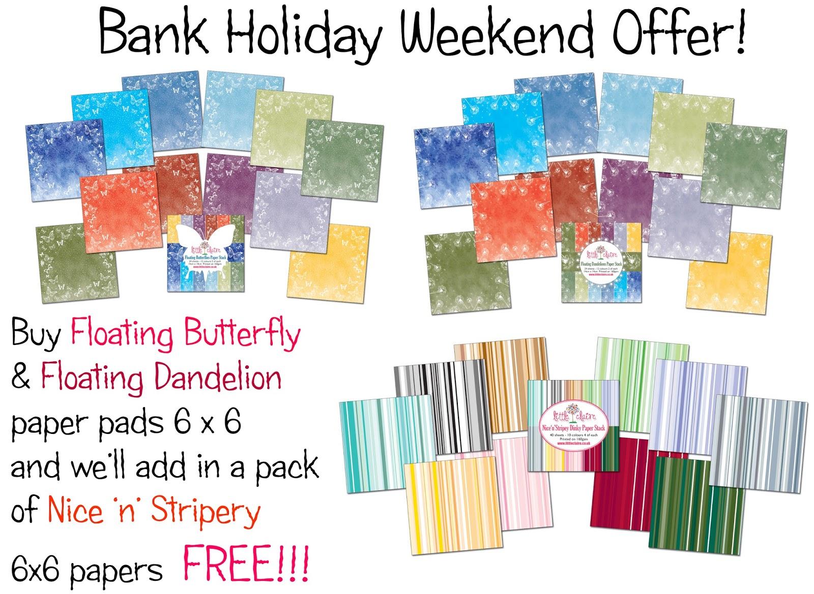 Bank holiday deals uk