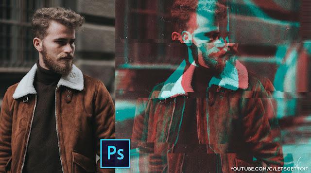 Cách nhanh chóng tạo một mẫu ảnh Glitch tuyệt vời trong Photoshop