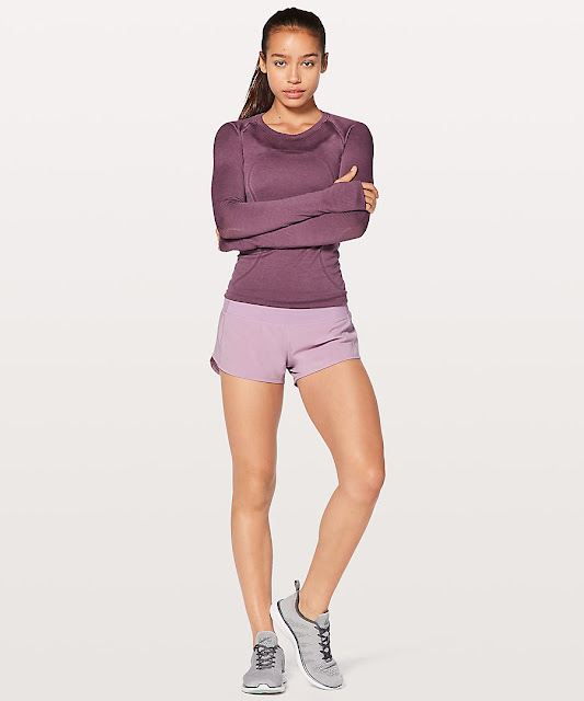lululemon lilac-quartz-speed-up-short