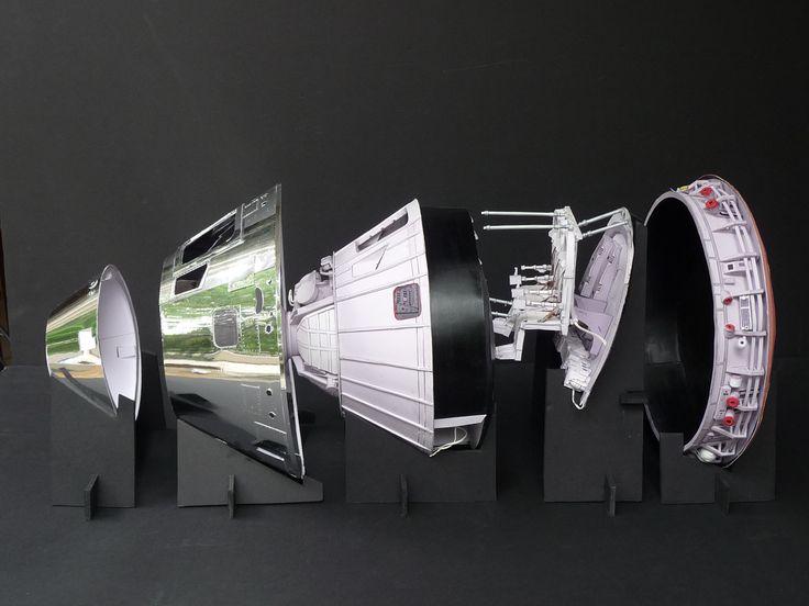 apollo spacecraft paper model - photo #5