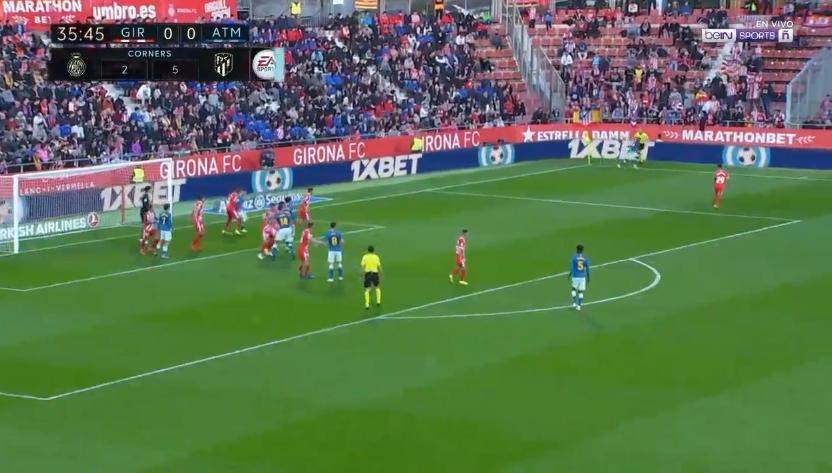 ملخص واهداف مباراة  أتلتيكو مدريد وجيرونا 1 - 1 الاحد 2-12-2018 الدوري الاسباني