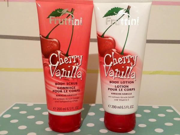 Fruttini Cherry Vanilla Body Scrub & Body Lotion
