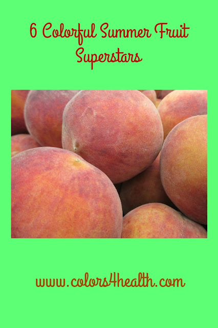 Delicious Peaches at Colors 4 Health