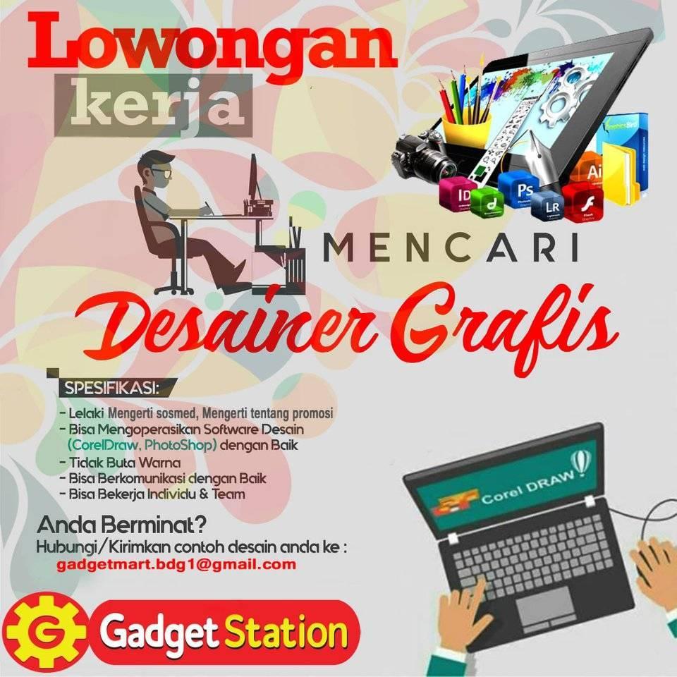 Lowongan Kerja Desainer Grafis Lowongan Kerja Terbaru Indonesia 2020