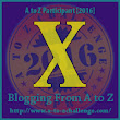 X is for names beginning with X AtoZ challenge 2016
