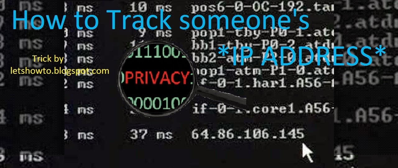 How to find/trace someone's IP Address with Facebook - LetsHowTo