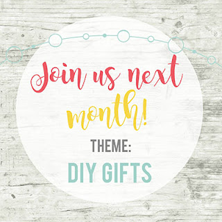 Inspire My Creativity Link party November Theme DIY Gifts