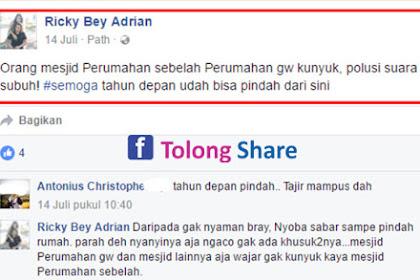 """Netizen Non Muslim Sebut Orang Masjid Seperti """"Kunyuk""""(Monyet) Suara Subuh Dianggap Polusi Pagi"""
