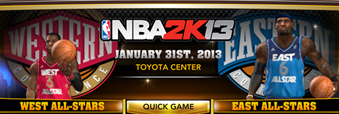 NBA 2K13 PC Roster Download January 30 2013