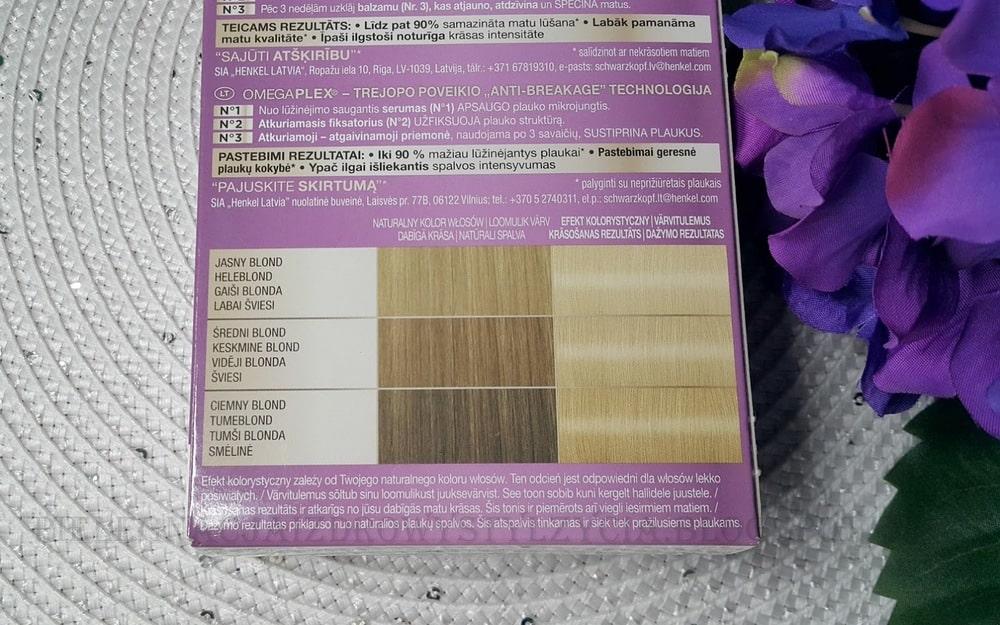 Schwarzkopf Color Expert 10.1 - efekty, opinie