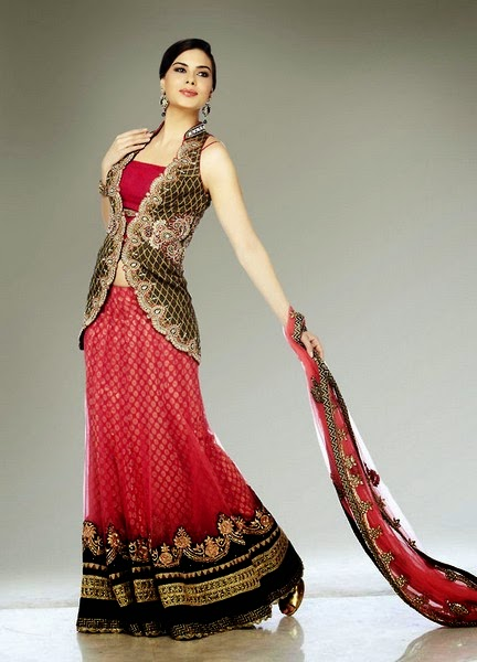 2d0f66e1ac LACHA - Bridal Dress A Traditional Dress for Modern Girls - She9 ...