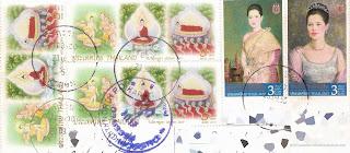 Stamps: Visak Day 2013 & Her Majesty Queen Sirikit