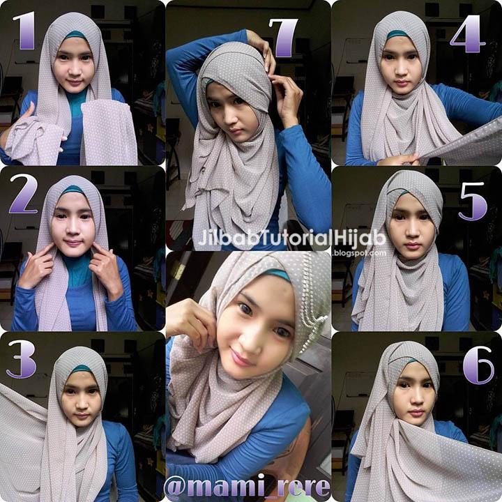 6 Tutorial Hijab Pashmina untuk Pesta | Jilbab Tutorial Hijab