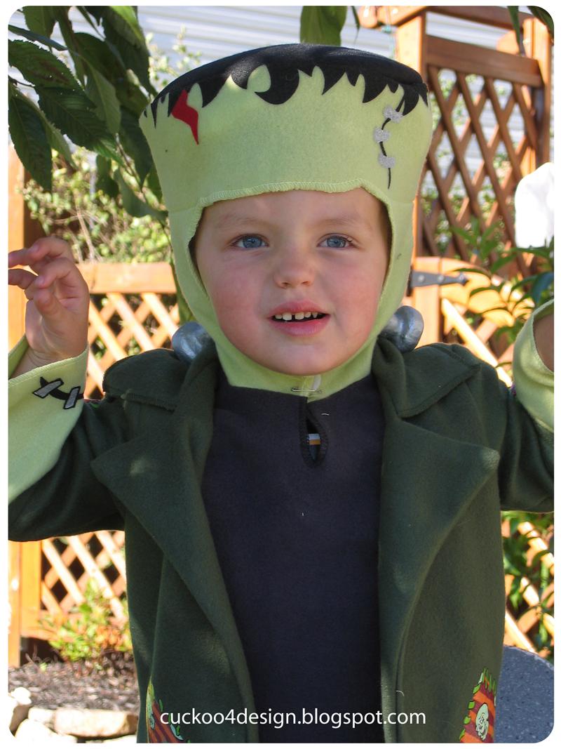 Costume ideas cuckoo4design toddler frankenstein solutioingenieria Image collections
