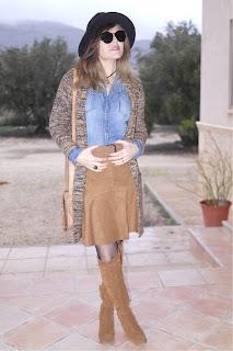 """Ideas para combinar una falda Camel """"Must Have"""""""