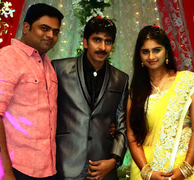 Gopichand And Reshma ring ceremony