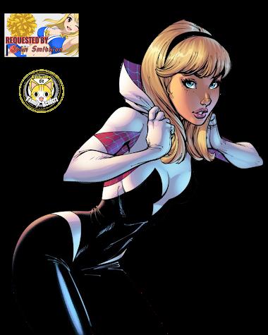 RENDER Spider-Woman (Gwen Stacy)