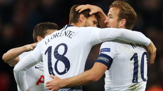 Harry Kane Tottenham 2 - 1 PSV Eindhoven
