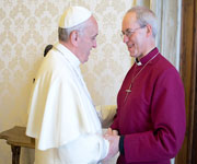 Archbishop of Canterbury interviews Pope Francis for the Kingdom Come