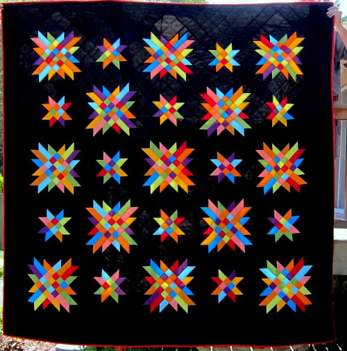 Delectable Stars Quilt Pattern