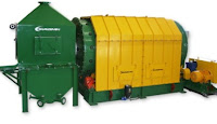 eliminates all safety risks with A-Ward ball mill ball container unloaders.