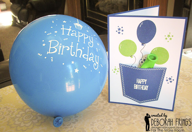 Happy Birthday detail - photo by Deborah Frings - Deborah's Gems