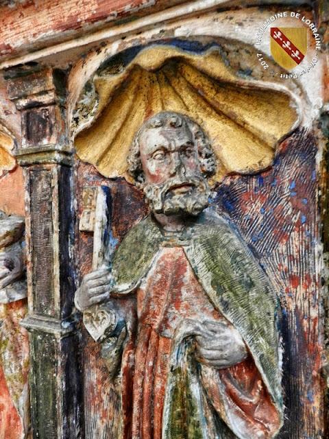 NANCY (54) - Musée Lorrain : Retable de Rigny-Saint-Martin