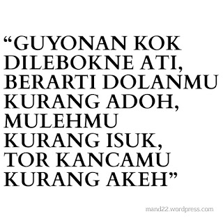 Gambar DP BBM Kata kata bahasa Jawa
