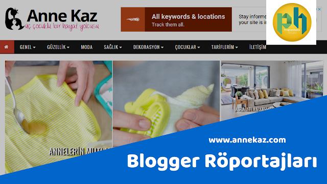 Blogger Röportajları: annekaz.com
