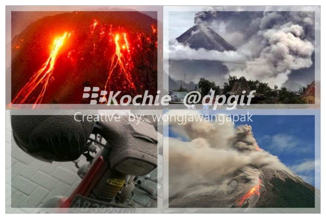 Gambar Foto Gunung Kelud DP BBM Hujan Abu Vulkanik Download