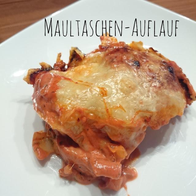 [Food] Maultaschen-Auflauf