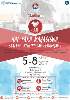 ICN Conference 2017, Hadiah 50 Jt