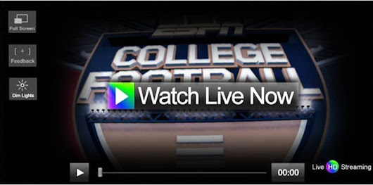 How to Watch NCAA College Football Online | COLLEGE FOOTBALL TV