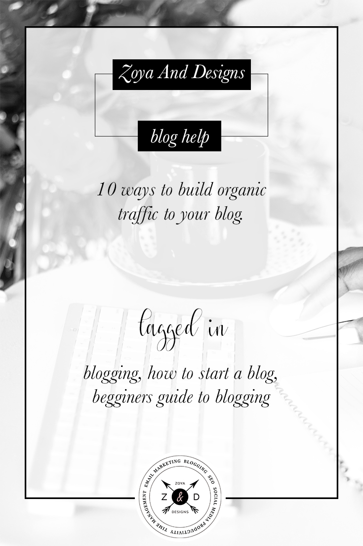 ten ways to build traffic to your blog