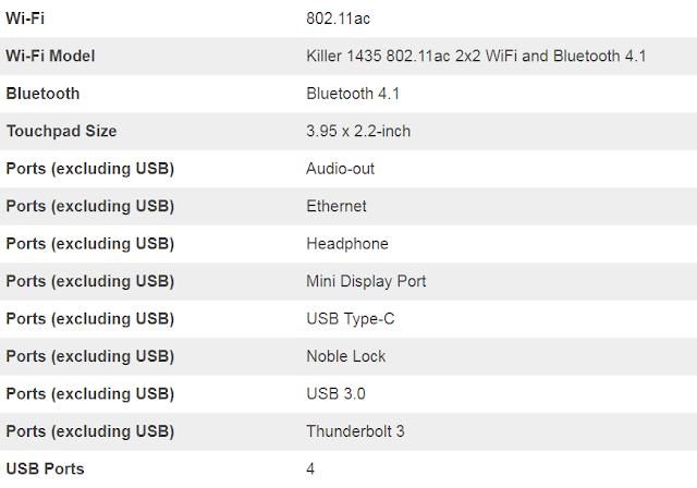مواصفات لاب توب Alienware 17