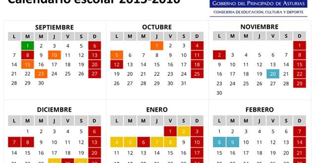 Calendario Uniovi 2020 18.Calendario Academico Uniovi